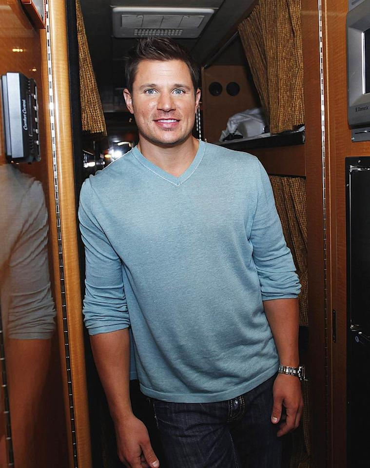 "Nick Lachey held on to feelings for his ex, Vanessa Minnillo, and recently managed to work things out. ""I am happy in a relationship,"" he revealed this week. ""I was single for a minute there, and then we've kind of patched things up."" Joe Robbins/<a href=""http://www.wireimage.com"" target=""new"">WireImage.com</a> - October 5, 2009"