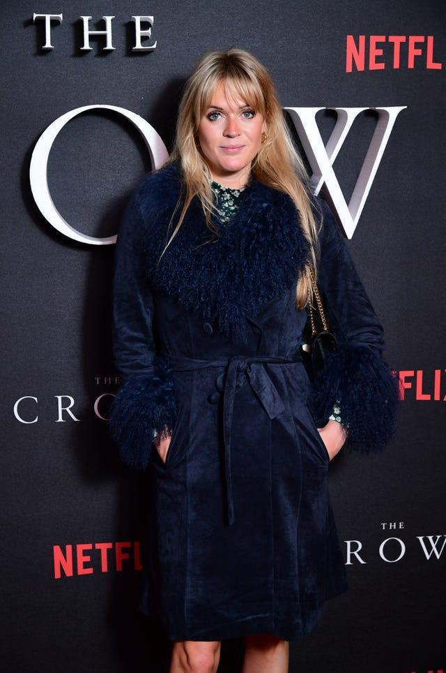Dolly Alderton at a red carpet event