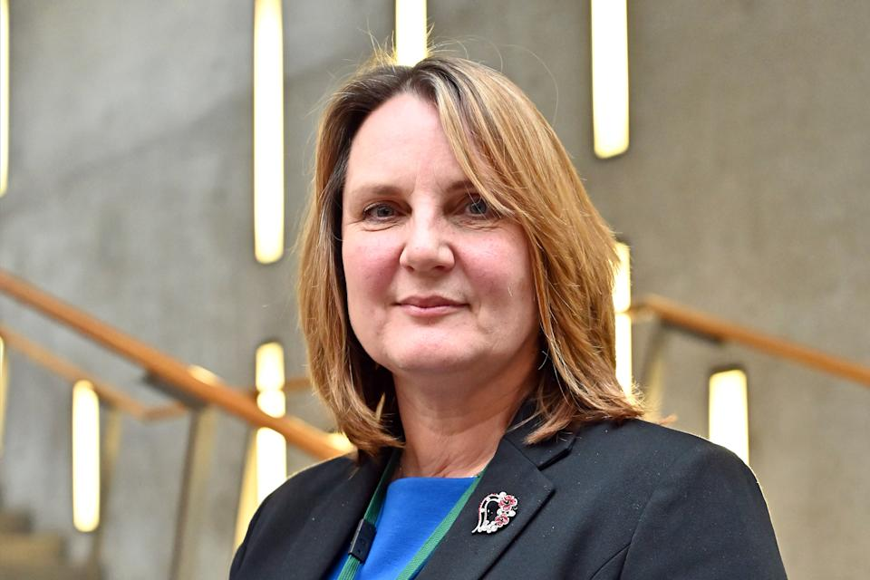 EDINBURGH, SCOTLAND - JANUARY 07: Scottish Conservative MSP Michelle Ballantyne in the lobby of the Scottish Parliament after announcing she is standing for the leadership as nominations for the contest open, on January 07, 2020 in Edinburgh, Scotland. (Photo by Ken Jack/Getty Images)