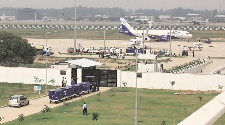 chandigarh city news, chandigarh airport, chandigarh airport runway fog ready, Chandigarh International Airport Limited