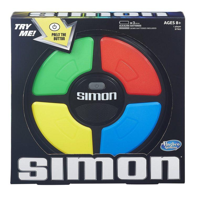 Simon box cover