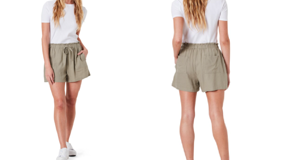 BIG W Linen blend shorts summer staple rivals high end buys
