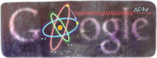 Google Doodle Celebrates Physicist Niels Bohr's 127th Birthday