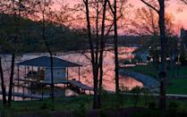 <p>The Roanoke reservoir was only created in the 1960s, but it already has priced its way up the list, hitting an average waterfront property value of <strong>$3.4 million</strong>.</p>