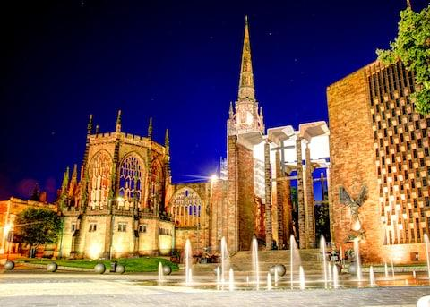 The roofless ruins of Coventry Cathedral - Credit: jczarniak - Fotolia