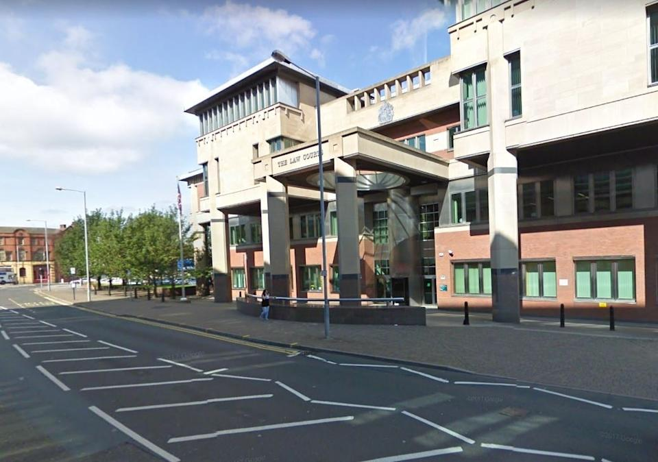 Leeson, of Jellicoe Close, Dorset, was sentenced to two years and four months in prison at Sheffield Crown Court (street view)