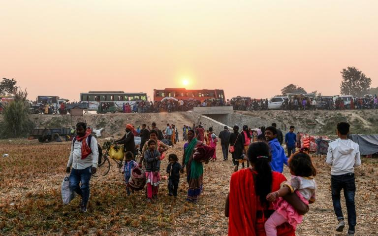 A mass animal sacrifice takes place every five years in Bariyarpur village in Nepal