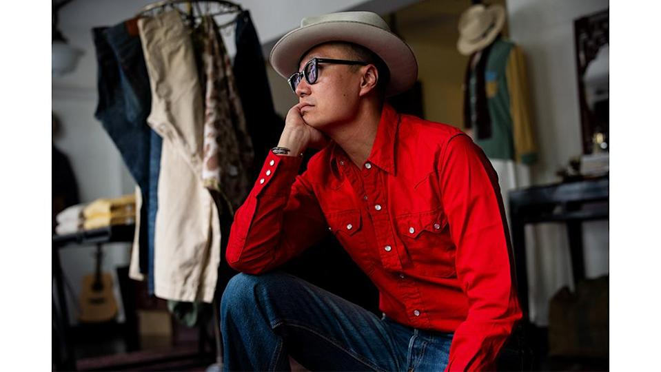 The Sawtooth Westerner in red.