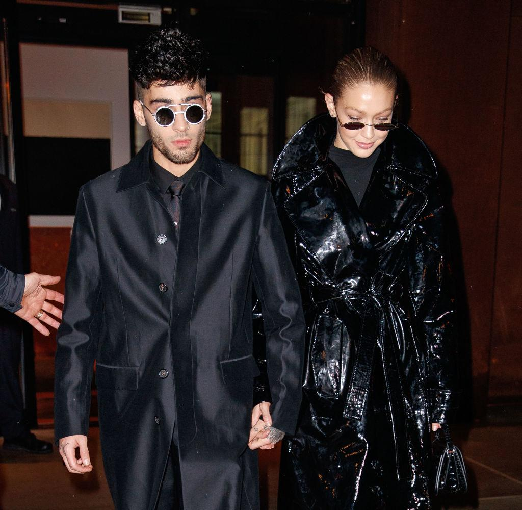 The couple are yet to confirm the baby news, pictured here in New York, January 2018. (Getty Images)