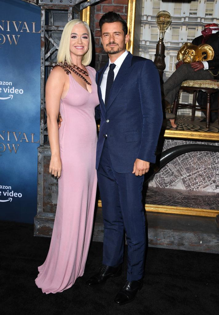 The soon-to-be newlyweds made a rare red carpet appearance last night [Photo: Getty]