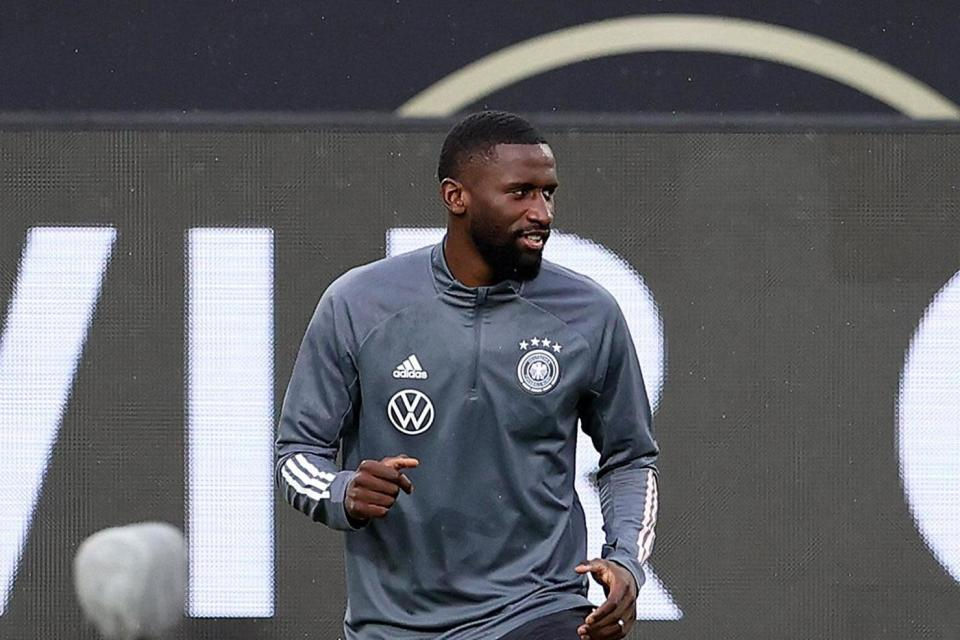 Chelsea lifeline: Antonio Rudiger is in contention for the Champions League tie against Krasnodar (Getty Images)