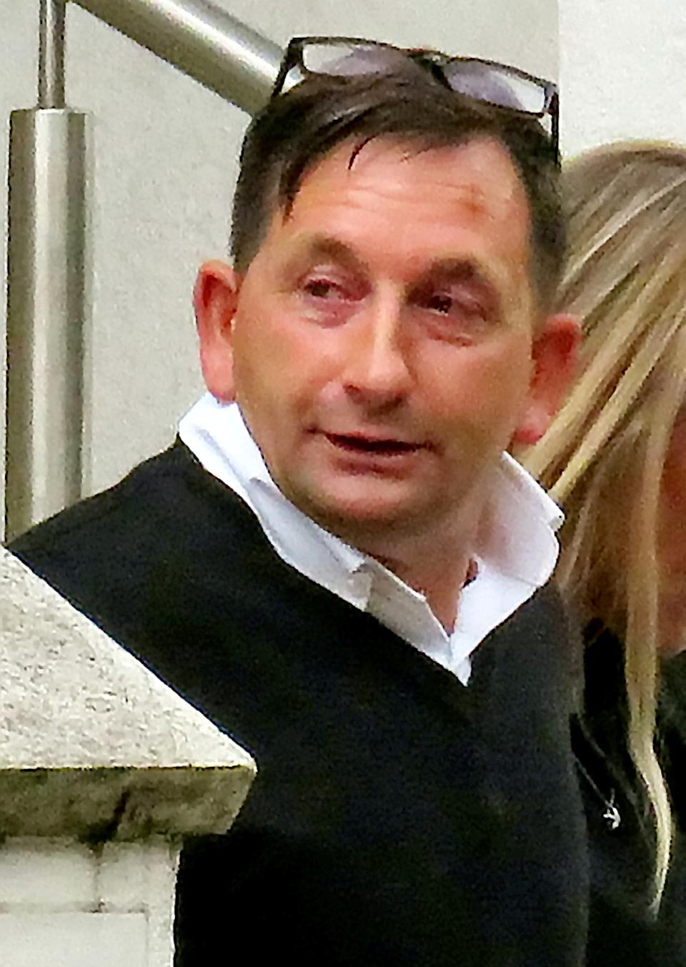 Stephen Wall was dumped by his partner of three-and-a-half years. (SWNS)