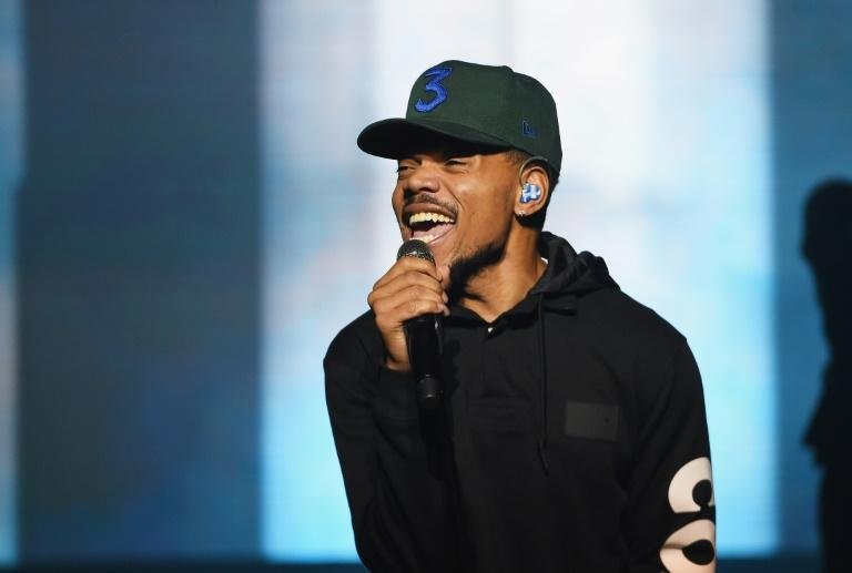 Chance The Rapper, pictured here at a Brooklyn performance on September 29, 2018, is lending his celebrity to a little known candidate in Chicago's race for mayor