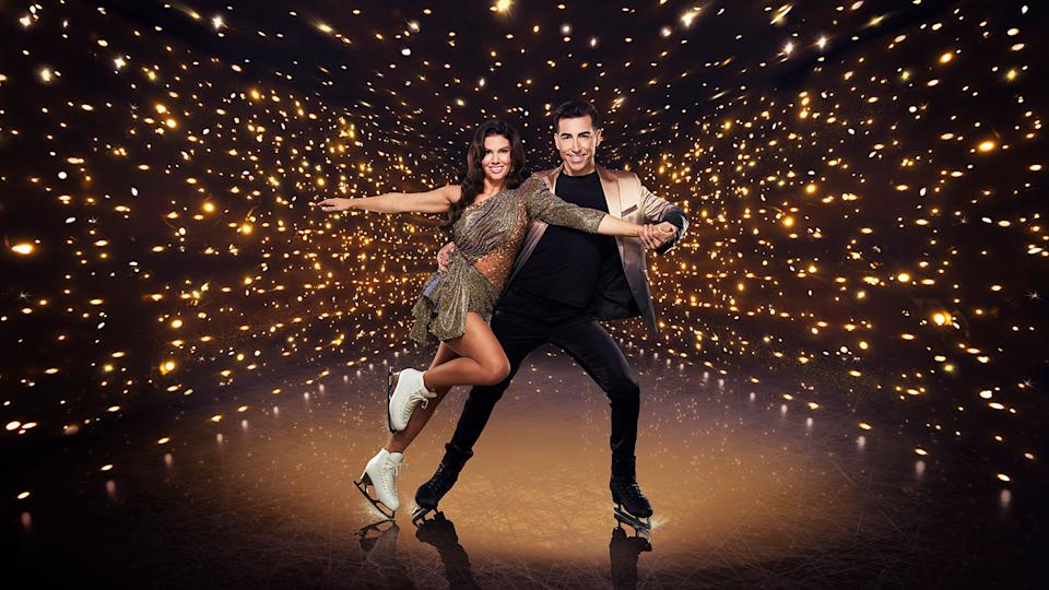 Rebekah Vardy. Dancing On Ice (ITV)