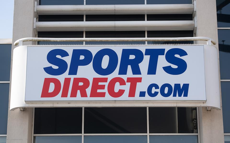 File photo dated 24/3/2020 of a Sports Direct store in Leicester. Sports Direct owner Frasers Group has warned it could take a hit in excess of �200 million due to the Covid-19 restrictions - double its previous estimate in February. Issue date: Friday April 9, 2021.