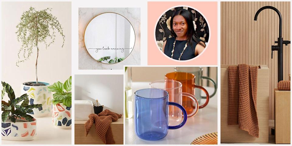 """<p><em><em>As </em>Good Housekeeping<em>'s senior home editor, I come across tons of home-related products, both good and bad. But there are some special finds that are just too great to keep to myself. That's why I'm sharing my favorite home items with you — our readers — here on our website every month in the hope that you'll appreciate them as much as I do.<br></em></em></p><hr><p>Sometimes all it takes are a few well-designed decor finds to make a room feel more chic and cozy. That's the mindset I adopted while browsing some of my favorite online retailers to pinpoint a selection of affordable home products that can work for all types of spaces, whether you have a <a href=""""https://www.goodhousekeeping.com/home/decorating-ideas/g32223836/small-living-room-ideas/"""" rel=""""nofollow noopener"""" target=""""_blank"""" data-ylk=""""slk:small living room"""" class=""""link rapid-noclick-resp"""">small living room</a> or a roomy home that's fit for Instagram. </p><p>This month, I came across an attractive <a href=""""https://go.redirectingat.com?id=74968X1596630&url=https%3A%2F%2Fwww.etsy.com%2Flisting%2F705388221%2Fleather-hanging-file-storage-organizer&sref=https%3A%2F%2Fwww.goodhousekeeping.com%2Fhome%2Fdecorating-ideas%2Fg37159808%2Fbest-home-products-july-2021%2F"""" rel=""""nofollow noopener"""" target=""""_blank"""" data-ylk=""""slk:leather organizer"""" class=""""link rapid-noclick-resp"""">leather organizer</a> with just enough space to hold items like magazines and Parachute's oh-so-soft <a href=""""https://go.redirectingat.com?id=74968X1596630&url=https%3A%2F%2Fwww.parachutehome.com%2Fproducts%2Fwaffle-bath-towel%3Fopt-color%3Dterra&sref=https%3A%2F%2Fwww.goodhousekeeping.com%2Fhome%2Fdecorating-ideas%2Fg37159808%2Fbest-home-products-july-2021%2F"""" rel=""""nofollow noopener"""" target=""""_blank"""" data-ylk=""""slk:waffle towels"""" class=""""link rapid-noclick-resp"""">waffle towels</a> to give my bathroom a spa vibe, an <a href=""""https://go.redirectingat.com?id=74968X1596630&url=https%3A%2F%2Fweezietowels.com%2Fproducts%2Ftissue-box-cove"""
