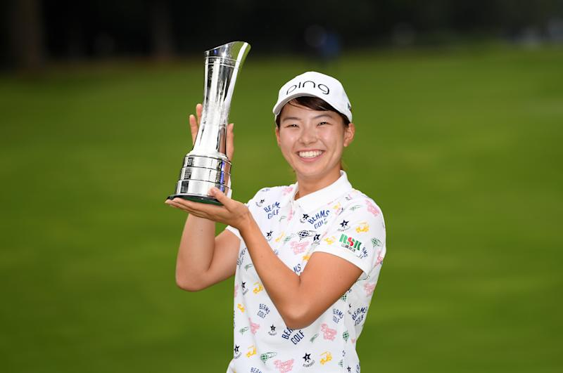 Japan's Hinako Shibuno had never played outside of her home country before this week. Thanks to a clutch birdie on her final hole, the 20-year-old is now a major champion.