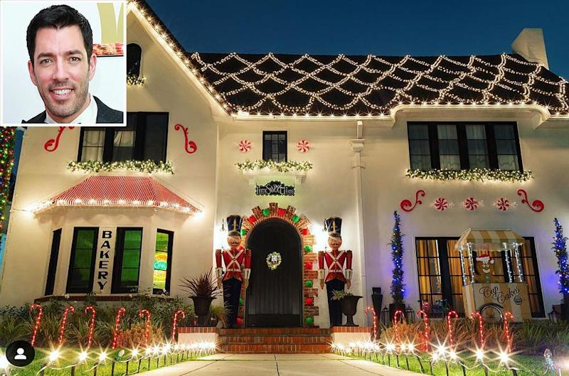 Drew Scott Made His And Wife Linda S L A Home Into A Life Size