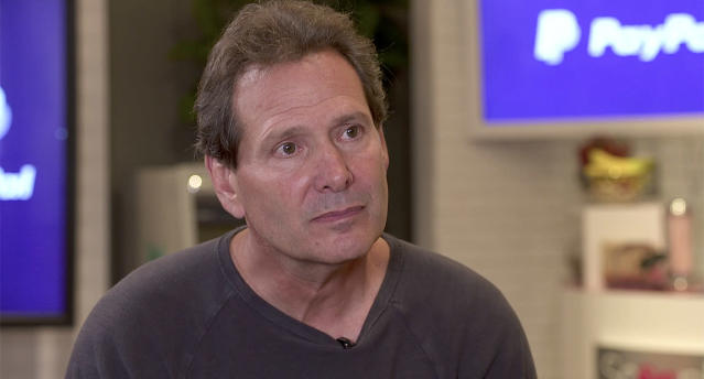 """I'm proud of the progress that we're making, but we still have a ton of room to go,"" PayPal CEO Dan Schulman told Yahoo Finance. Source: Yahoo Finance"