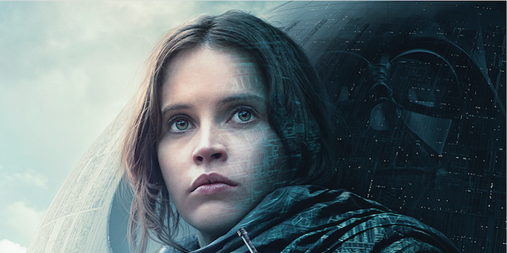 """The new """"Rogue One"""" poster is giving us major old school """"Star Wars"""" vibes"""