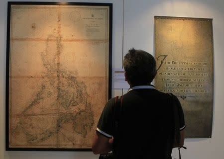 Philippines displays ancient maps to debunk China's sea claims