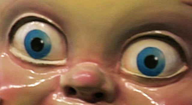 People are terrified by the return of King Cake Baby