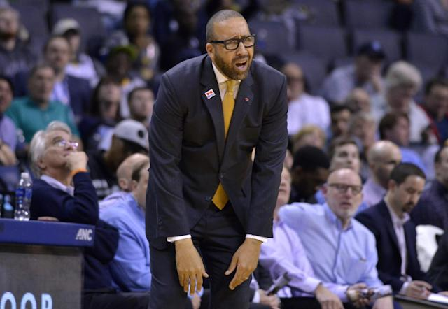 Grizzlies head coach David Fizdale is searching for answers. (AP)