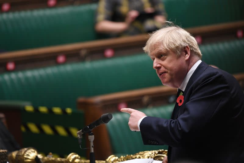 British PM Johnson is self-isolating after COVID-19 contact