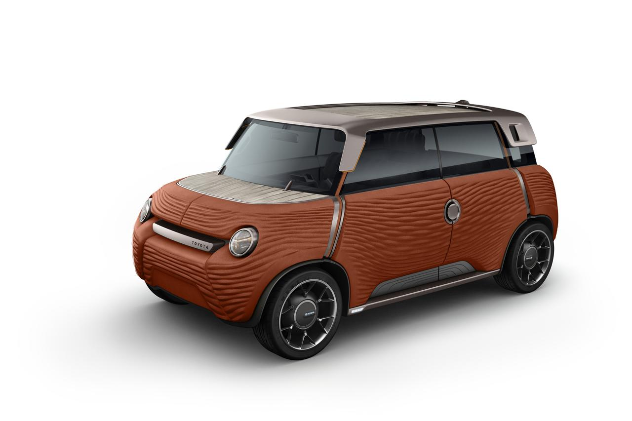 Inside, there are two futon-like bench seats and a bamboo dash with a single small screen and phone port.