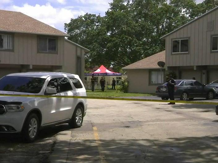 Reports said that investigators made the first discovery at around 12pm on Tuesday (WPLG)