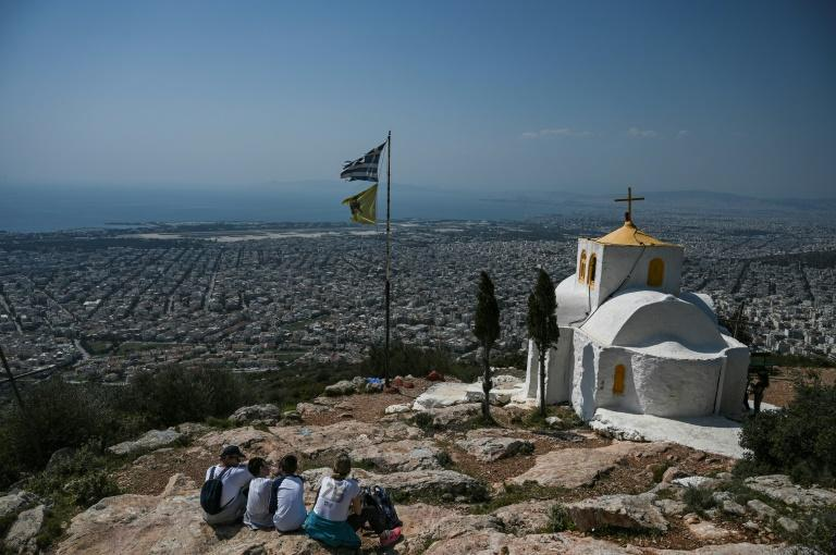 Easter is Greece's foremost religious celebration, during which churches record their highest attendances (AFP Photo/Aris Messinis)