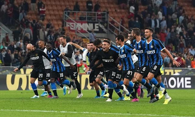 Inter-Spal, decide Lautaro: Conte primo in classifica