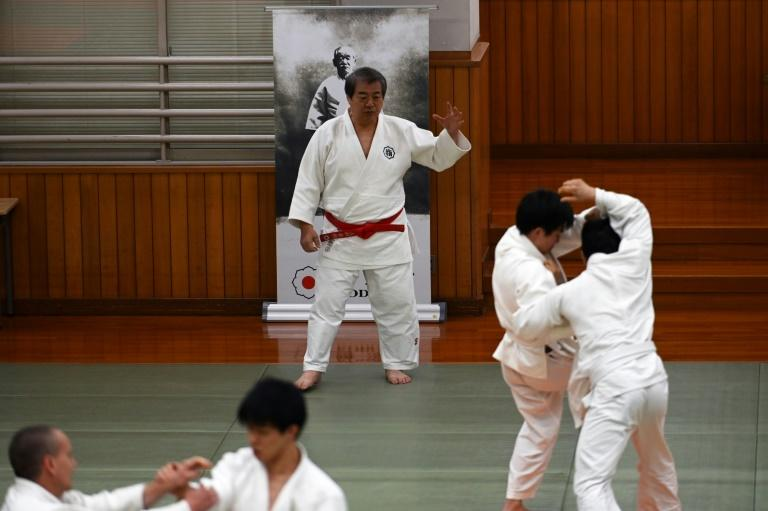 Judo was founded by Jigoro Kano in the 1880s (AFP Photo/Behrouz MEHRI)
