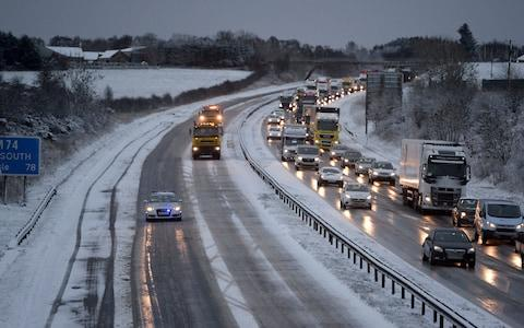 Gritters are being deployed across the country to tackle the snow - Credit: South West News