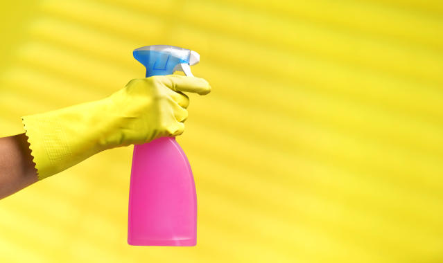 Stock up on cleaning products and give your home a spruce-up for spring. (Getty Images)