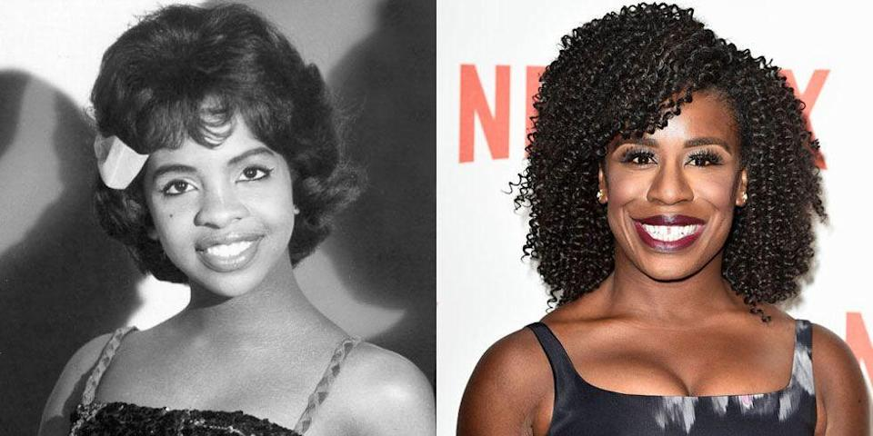 <p>No, you're not seeing double. <em>Orange is the New Black </em>star, Uzo Aduba, has the same million-watt smile that Gladys Knight was known for.</p>