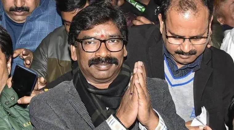 Image result for Hemant Soren Sworn In as 11th Jharkhand Chief Minister Amid Opposition Show of Strength