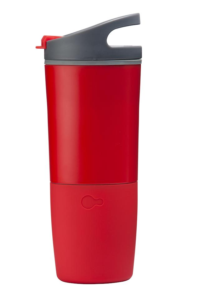 "<p>Keep dad hydrated with this smart cup. LED lights and vibration alerts track and remind you to take a sip throughout the day. It even detects water or coffee, so there's no cheating. Everything is recorded in a handy app that connects with Fitbit, Garmin or Apple Health to integrate your fitness and hydration goals.</p> <p><strong><a href=""https://www.ozmo.io"" rel=""nofollow noopener"" target=""_blank"" data-ylk=""slk:SHOP NOW"" class=""link rapid-noclick-resp"">SHOP NOW</a></strong></p>"