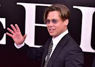 """<p>The big role of Brad Pitt's 2015 was <em><a href=""""https://www.imdb.com/title/tt1596363/?ref_=nm_flmg_act_9"""" rel=""""nofollow noopener"""" target=""""_blank"""" data-ylk=""""slk:The Big Short"""" class=""""link rapid-noclick-resp"""">The Big Short</a></em>, a financial drama from director, Adam McKay, which he also produced.</p>"""