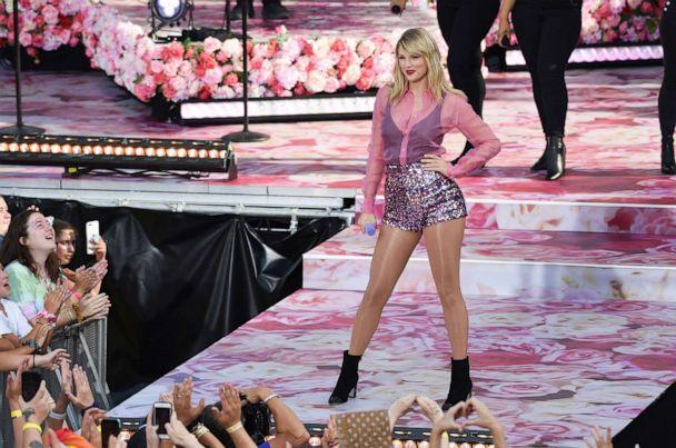 PHOTO: Singer Taylor Swift performs on ABC's 'Good Morning America' at Rumsey Playfield/SummerStage in Central Park on Aug. 22, 2019, in New York. (Evan Agostini/Invision/AP)