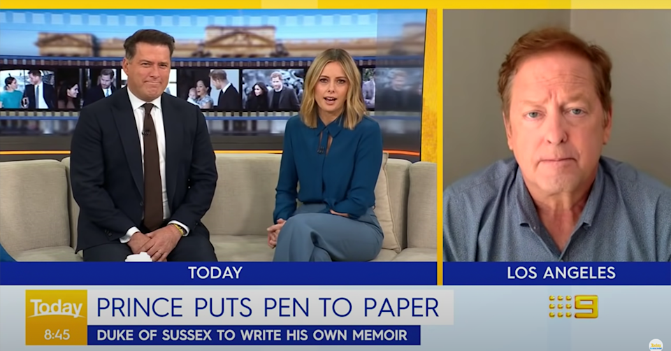 Karl Stefanovic and his co-host Allison Langdon on Today.