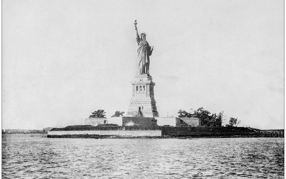 A photo of the landmark from the 19th century - Istockphoto