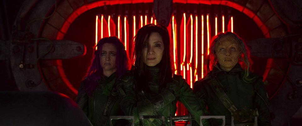 Michelle appeared as Aleta Ogord in Guardians of the Galaxy Vol. 2