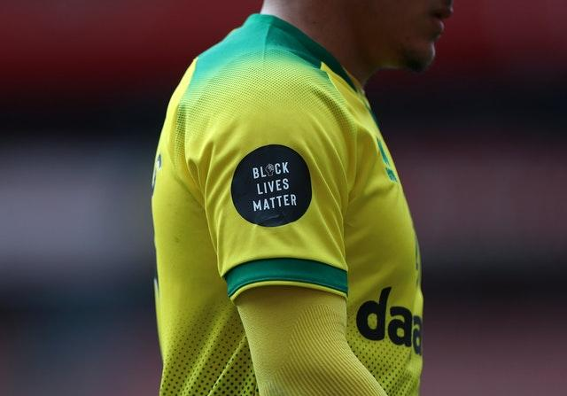 The Black Lives Matter logo has been displayed on every Premier League shirt since the resumption