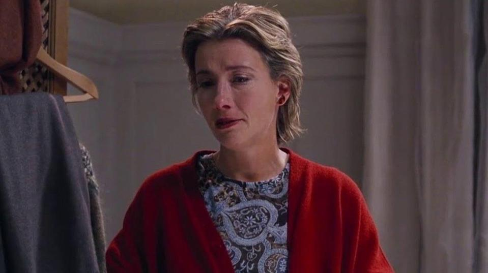 Emma Thompson in Love Actually (Credit: Universal Pictures)