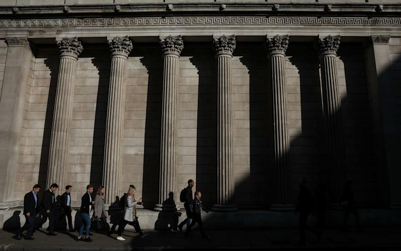 The Bank of England closed its Term Funding Scheme in February - Bloomberg