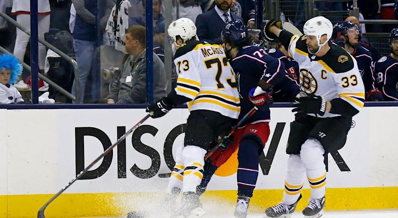 Blue Jackets' Josh Anderson speaks out on hit by Charlie McAvoy