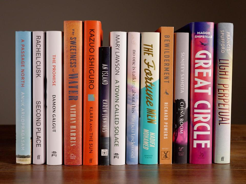 The 13 books longlisted for the 2021 Booker Prize (Booker Prizes)