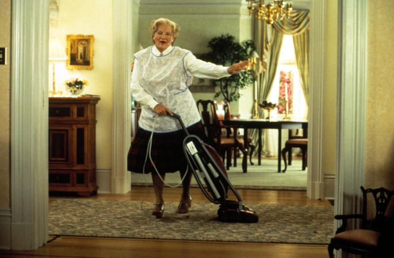 MRS. DOUBTFIRE, Robin williams, 1993, TM & Copyright (c) 20th Century Fox Film Corp. All rights reserved.