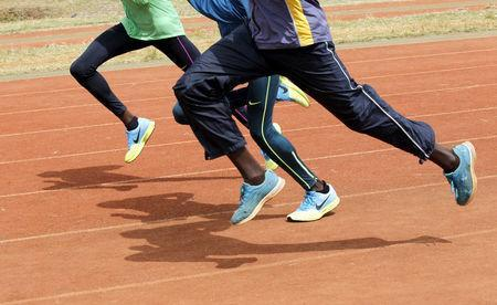 Kenya's athletes run during a training session in Nairobi, ahead of the 15th IAAF World Championships in Beijing, August 5, 2015. REUTERS/Thomas Mukoya/File Photo Picture Supplied by Action Images